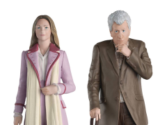 Doctor Who Figurine Collection The Time Lord Series #1 Romana & The Curator