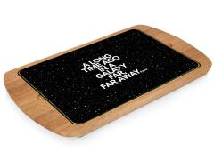 Star Wars Scrolling Text Billboard Serving Tray