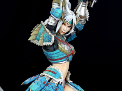 Monster Hunter Female Hunter (Zinogre Armor) 1/10 Scale Statue