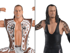 WWE Figurine Championship Collection Shawn Michaels Vs. Undertaker