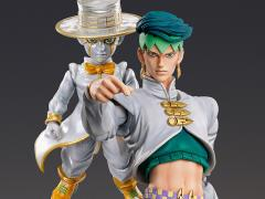 JoJo's Bizarre Adventure Super Action Statue Rohan Kishibe & Heaven's Door