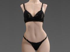 Exquisite Underwear (Black) Camry Series Spring Medium Bust 1/6 Scale Accessory Set (028-MC)