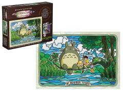 My Neighbor Totoro 300-AC034 Totoro & Friends Fishing Artcrystal 300-Piece Puzzle