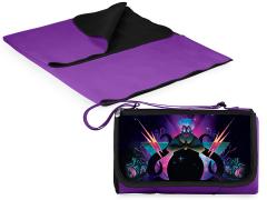 The Little Mermaid Ursula Outdoor Picnic Blanket & Blanket Tote (Purple)
