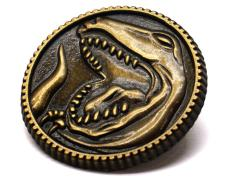 Mighty Morphin Power Rangers Tyrannosaurus Power Coin Limited Edition Pin