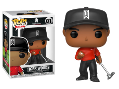 Pop! Golf: Tiger Woods (Red Shirt)