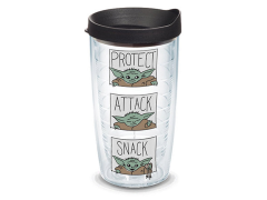 The Mandalorian The Child Protect Attack Snack 16oz. Tumbler