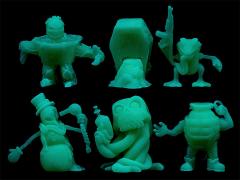 Run-A-Mucks (Glow-in-the-Dark) Mini Figure Six-Pack