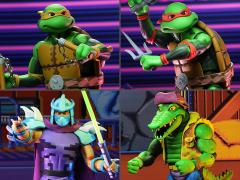 TMNT: Turtles in Time Wave 2 Set of 4 Figures
