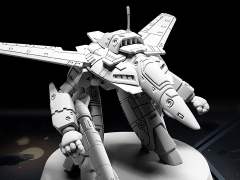 Robotech MiniTech MT03 VF-1J (Guardian Mode) 1/285 Scale Model Kit