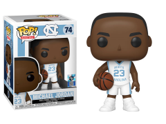 Pop! Basketball: University of North Carolina - Michael Jordan (Away Jersey)