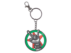 Cyberpunk 2077 Silverhand Keychain