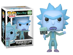 Pop! Animation: Rick and Morty - Hologram Rick Clone
