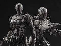 RoboCop (2014) EM-208 Enforcement Droid 1:18 Scale PX Previews Exclusive Figure Two-Pack
