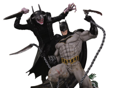 Dark Nights: Metal The Batman Who Laughs Vs. Batman Limited Edition Battle Statue