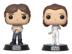 Pop! Star Wars: The Empire Strikes Back - Han & Leia Two-Pack