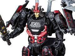 Transformers Studio Series 36 Deluxe Drift with Mini Dinobots