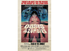 Oasis of the Zombies Retro Theatrical Poster Print