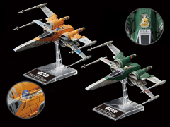 Star Wars Poe's X-Wing & X-Wing Fighter (The Rise of Skywalker) 1/144 Scale Model Kit Set