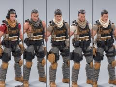PLA Field Force Team 1/18 Scale Figure Set