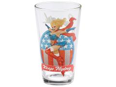 DC Toon Tumblers Bombshells Supergirl Pint Glass
