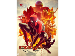 Spider-Man: Far From Home Limited Edition Lithograph