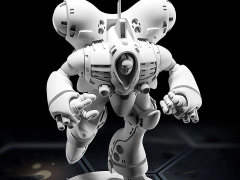 Robotech MiniTech MT04 Queadluun-Rau Power Armor 1/285 Scale Model Kit