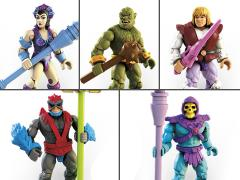 Masters of the Universe Mega Construx Heroes Set of 5 Figures