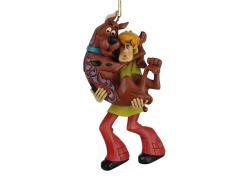 Scooby-Doo Shaggy Holding Scooby-Doo Ornament (Jim Shore)