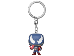 Pocket Pop! Keychain: Marvel Venom - Captain America