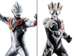Ultraman ULTRA-ACT Tiga Ultimate Luminous Evil Tiga & Kyrieloid Exclusive Two-Pack