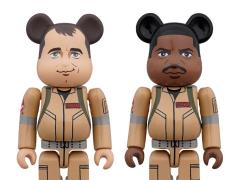 Ghostbusters Bearbricks Peter Venkman & Winston Zeddemore Two-Pack