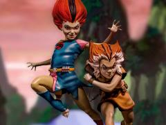 ThunderCats Battle Diorama Series WilyKit & WilyKat 1/10 Art Scale Limited Edition Statue