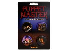 Puppet Master Original Series Button Four-Pack