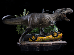 Jurassic Park Battle Diorama Series T-Rex Part A 1/10 Art Scale Limited Edition Statue