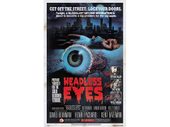 The Headless Eyes Retro Theatrical Poster Print