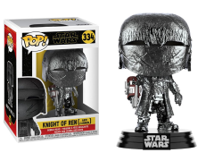 Pop! Star Wars: The Rise of Skywalker - Knight of Ren With Cannon (Hematite Chrome)