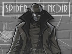Spider-Man: Into the Spider-Verse FiGPiN #316 Spider-Man Noir