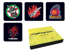 Cyberpunk 2077 Coaster Set