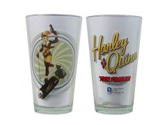 DC Toon Tumblers Bombshells Harley Quinn Pint Glass