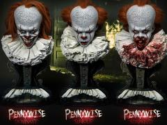 IT (2017) High Definition Museum Masterline Pennywise 1/2 Scale Set of 3 Busts