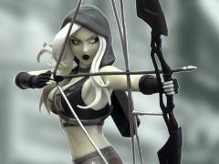 Robyn Hood (Black & White) Limited Edition Bishoujo Style Statue