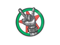 Cyberpunk 2077 Silverhand Emblem Enamel Pin