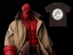 Hellboy 1/12 Scale Action Figure With PX Previews Exclusive BPRD Shirt