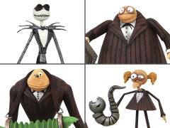 The Nightmare Before Christmas Select Series Wave 9 Set of 4 Figures