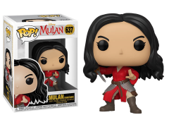 Pop! Disney: Mulan (2020) - Warrior Mulan