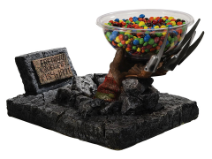 A Nightmare on Elm Street Freddy Krueger Hands Candy Bowl Holder