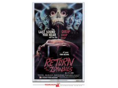 Return of the Zombies Retro Theatrical Poster Print
