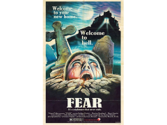 Fear Retro Theatrical Poster Print