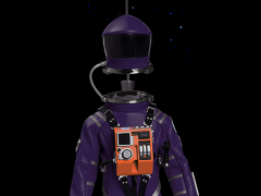 2001: A Space Odyssey Discovery Astronaut 1/6 Scale Limited Edition Conceptual Violet Space Suit